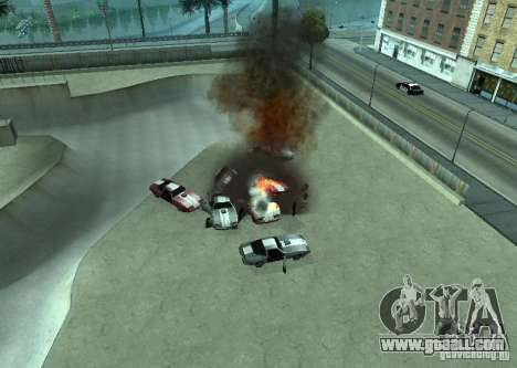 New effects of explosions for GTA San Andreas second screenshot