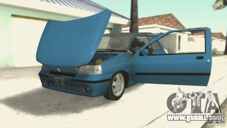 Renault Clio RL 1996 for GTA San Andreas back view