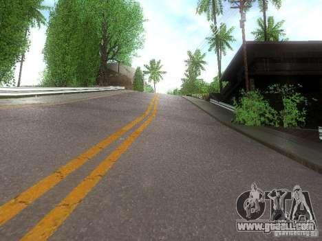Modification Of The Road for GTA San Andreas third screenshot