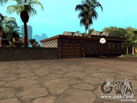 Reteksturirovannyj House CJeâ V1 for GTA San Andreas second screenshot
