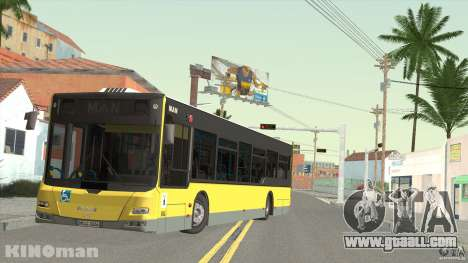 MAN Lion City for GTA San Andreas