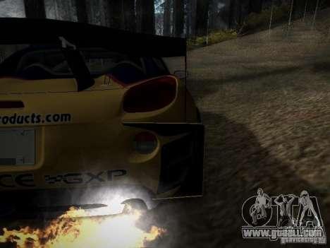 Pontiac Solstice Redbull Drift v2 for GTA San Andreas inner view
