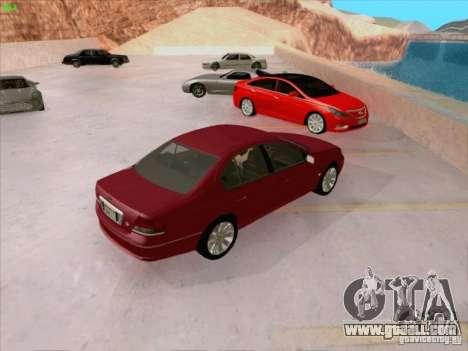 Ford Falcon Fairmont Ghia for GTA San Andreas upper view