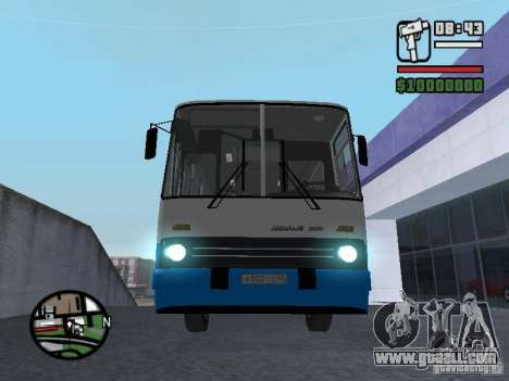 Ikarus 260 safety for GTA San Andreas upper view