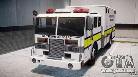 Royal Logistic Corps Bomb Disposal Truck for GTA 4