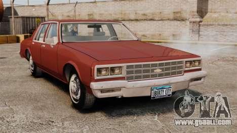 Chevrolet Caprice Classic 1979 for GTA 4