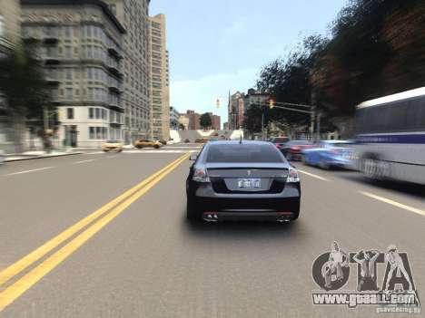 Pontiac G8 GXP for GTA 4 inner view