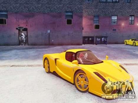 Ferrari Enzo 2002 for GTA 4 side view
