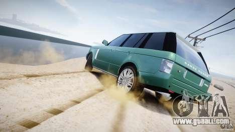 Range Rover Vogue for GTA 4 engine