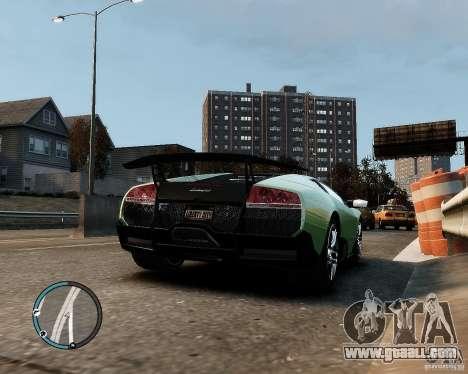 Lamborghini Murcielago LP 670-4 SuperVeloce 2010 for GTA 4 right view