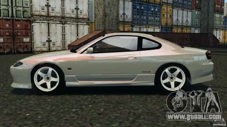 Nissan Silvia S15 Drift for GTA 4 left view