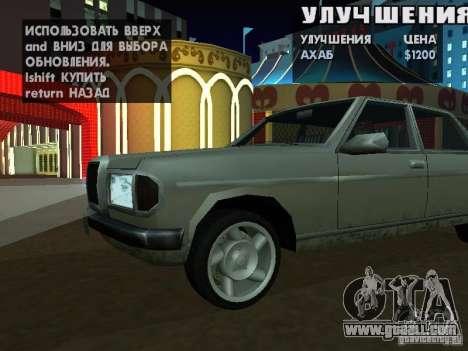 SA HQ Wheels for GTA San Andreas twelth screenshot