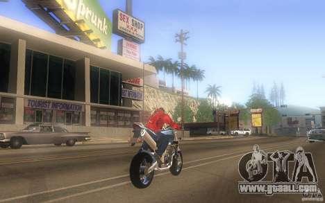 Honda CBF 600 Hornet for GTA San Andreas right view