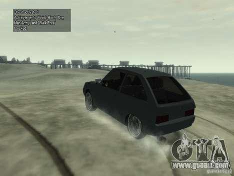 ZAZ 1102 Tavria for GTA 4 left view