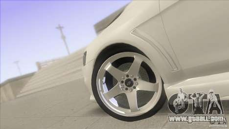 Mitsubishi Lancer Evo IX DIM for GTA San Andreas inner view