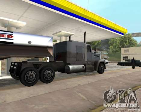 Packer Truck for GTA San Andreas left view