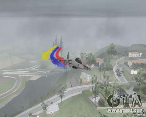 Multi colored strips for aircraft for GTA San Andreas second screenshot