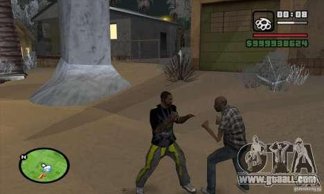Monster energy suit pack for GTA San Andreas sixth screenshot