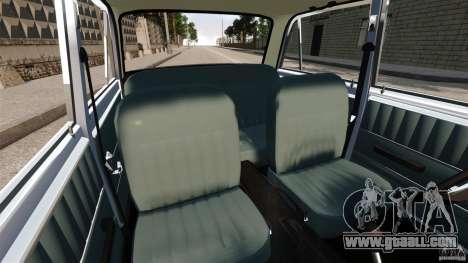 Vaz-2101 Stock for GTA 4 inner view