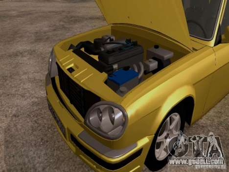 GAZ Volga 31107 for GTA San Andreas back view
