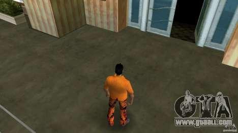 Orange Man for GTA Vice City second screenshot