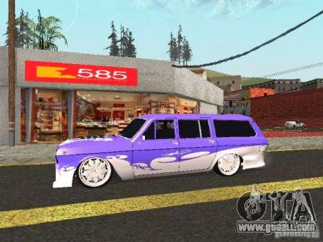 GAZ 24-12 Lowrider for GTA San Andreas