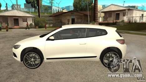 Volkswagen Scirocco 2009 for GTA San Andreas left view
