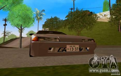 New Elegy for GTA San Andreas left view