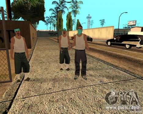 Beta Peds for GTA San Andreas seventh screenshot
