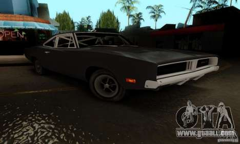 Dodge Charger RT for GTA San Andreas right view