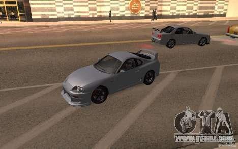 Toyota Supra Mark IV for GTA San Andreas right view