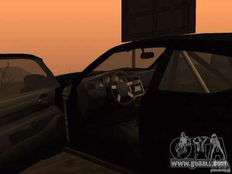 Dodge Charger Fast Five for GTA San Andreas back left view