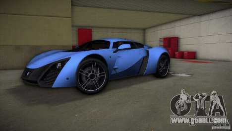 Marussia B2 2010 for GTA Vice City back view