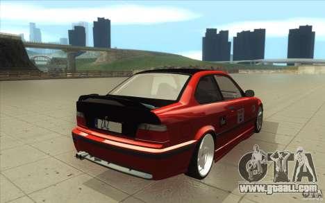 BMW Fan Drift Bolidas for GTA San Andreas side view