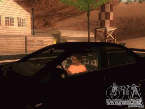 Mitsubishi  Lancer Evo X BMS Edition for GTA San Andreas left view