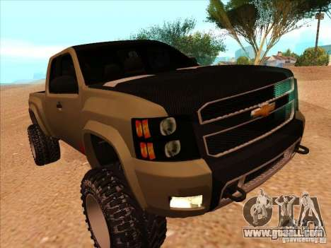 Chevrolet Silverado ZR2 for GTA San Andreas left view
