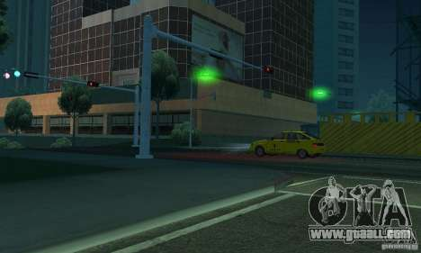 Green lights for GTA San Andreas sixth screenshot