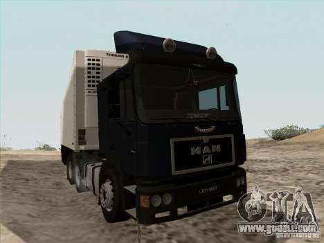 MAN F2000 6x4 for GTA San Andreas left view