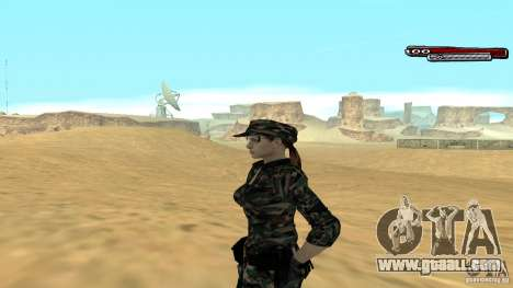 Soldier HD for GTA San Andreas second screenshot