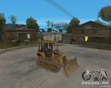 Bulldozer from COD 4 MW for GTA San Andreas left view