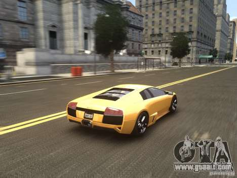 Lamborghini Murcielago LP640 2007 for GTA 4 side view