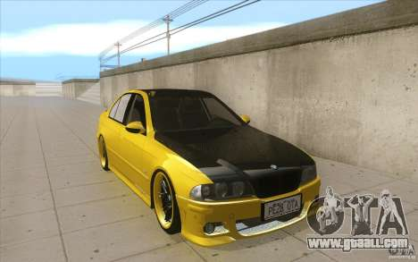 BMW M5 E39 - FnF4 for GTA San Andreas back view