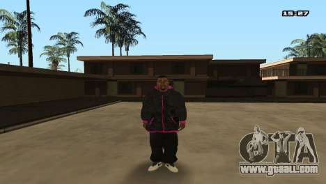 Skin Pack Ballas for GTA San Andreas forth screenshot