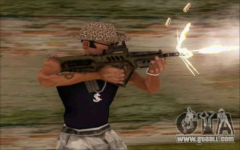 Tavor ctar-21 from WarFace v2 for GTA San Andreas second screenshot