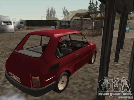 Fiat 126p Elegant for GTA San Andreas right view