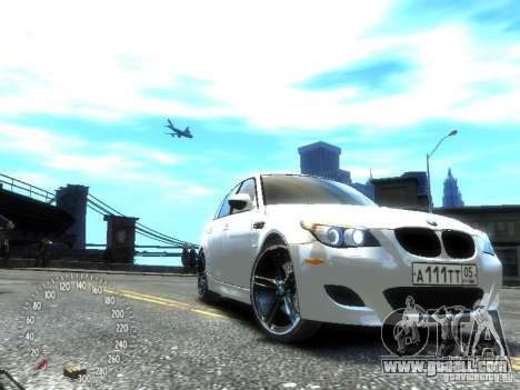 BMW M5 E60 for GTA 4 right view