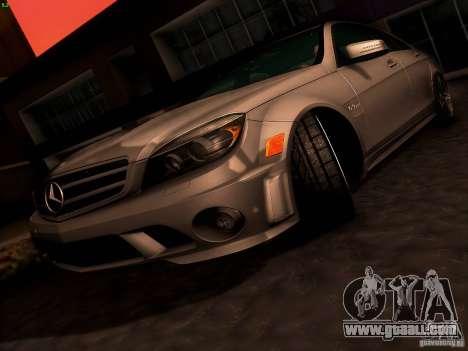 Mercedes-Benz C36 AMG for GTA San Andreas wheels