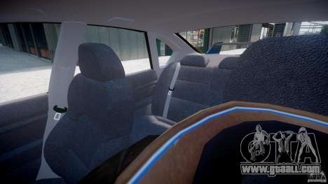 Subaru Legacy B4 GT for GTA 4 interior