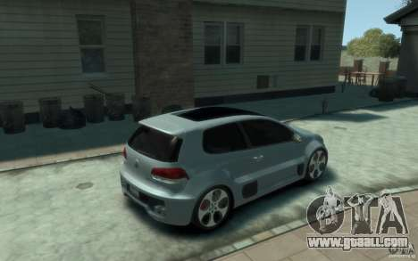 Volkswagen Golf W12-650 for GTA 4 right view