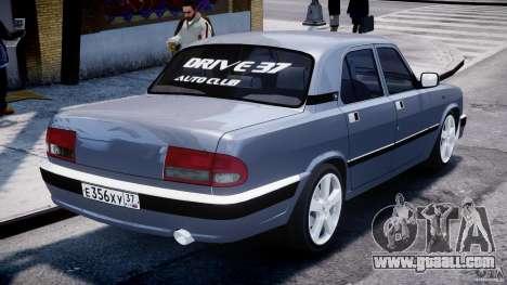 Gaz-3110 Turbo WRX STI v1.0 for GTA 4 back left view